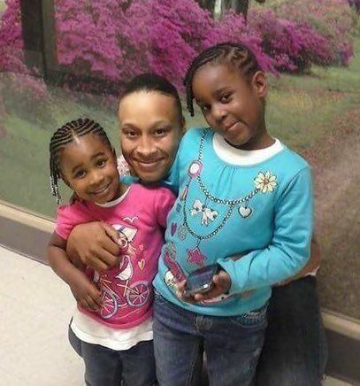 Malayya and Issah Zanasia Williams with their mother, Nashae Williams. All three were shot to death in...