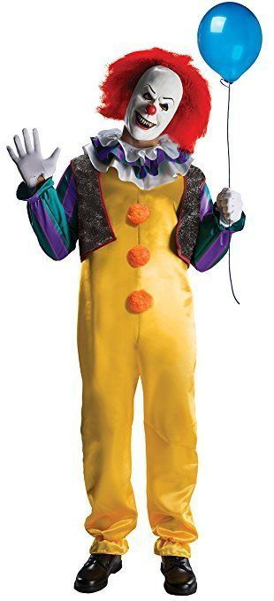 """Get it <a href=""""https://www.amazon.com/Rubies-Pennywise-Costume-Multicolor-Standard/dp/B00IMB254I/ref=lp_17052772011_1_15?amp"""