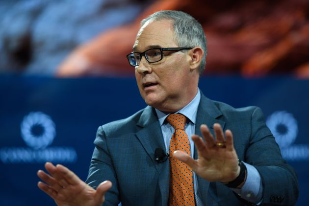 EPA Administrator Scott Pruitt has said he doesn't believe carbon dioxide causes climate