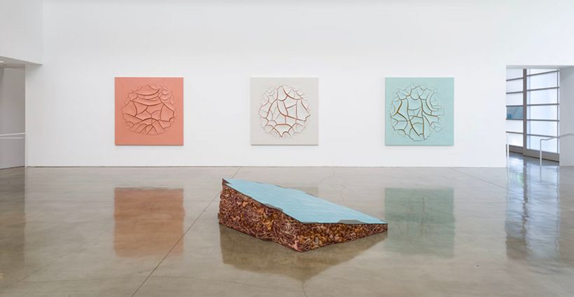 Installation view, North Gallery. © Adriana Varejão. Photo by Jeff McLane. Courtesy Gagosian.
