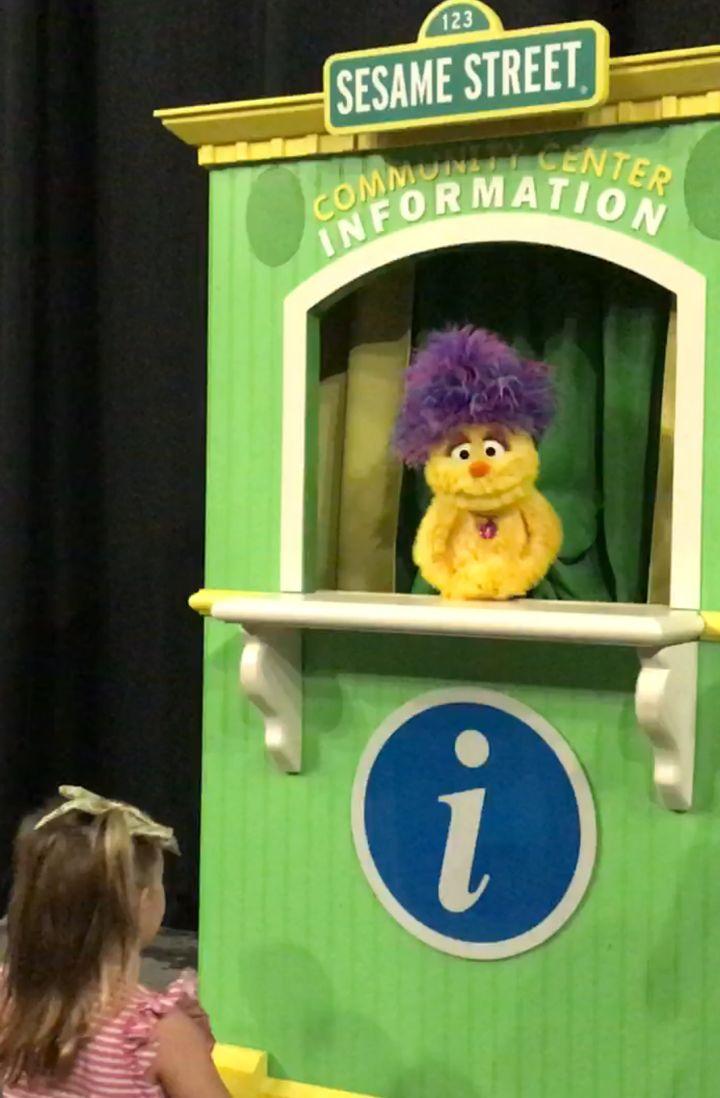Meet Maya Monster a new Muppet exclusive to Sesame Street Live!