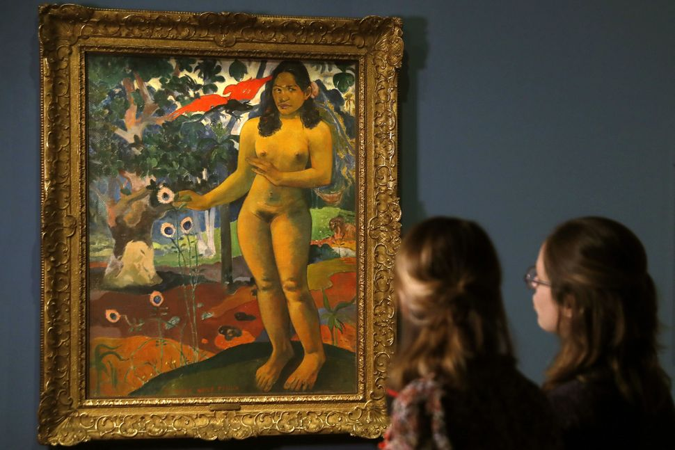 "Paul Gauguin's ""Te Nave Nave Fenua (The Delighful Land)."""