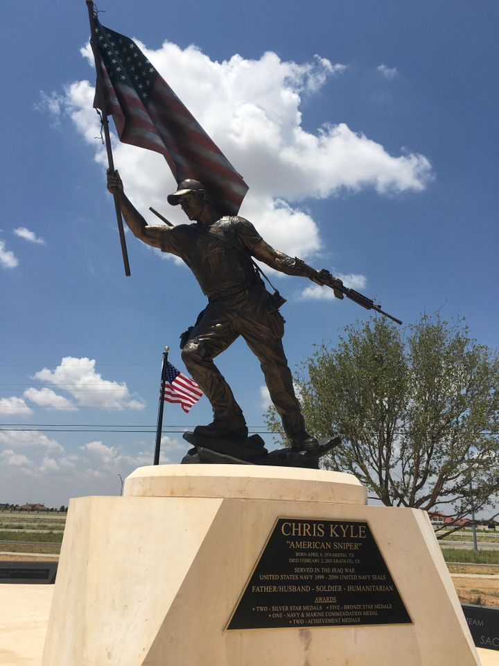 """Chris Kyle """"American Sniper"""" Memorial"""