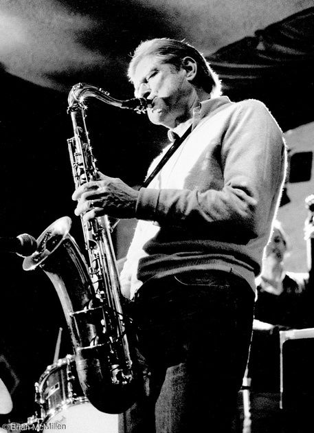"Zoot Sims, saxophonist, born October 29, 1925.  Keystone Korner, San Francisco <a rel=""nofollow"" href=""https://www.brianmcmil"