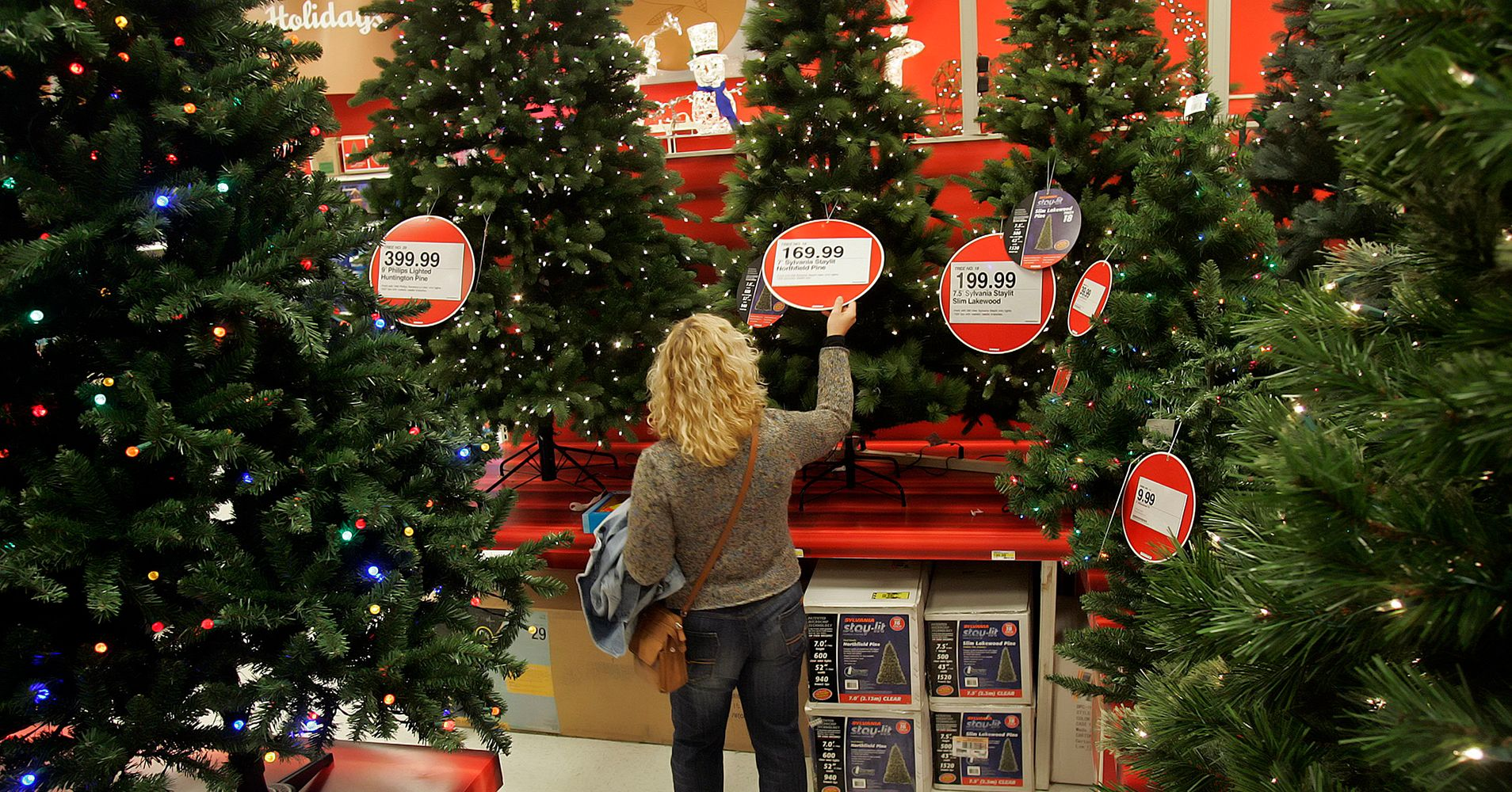 target claims it wont start christmas early then starts christmas early anyway huffpost