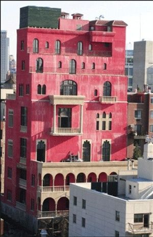 "Julian Schnabel's Palazzo Chupi, West 11th Street, Greenwich Village, NYC <a rel=""nofollow"" href=""https://www.housecentral.in"