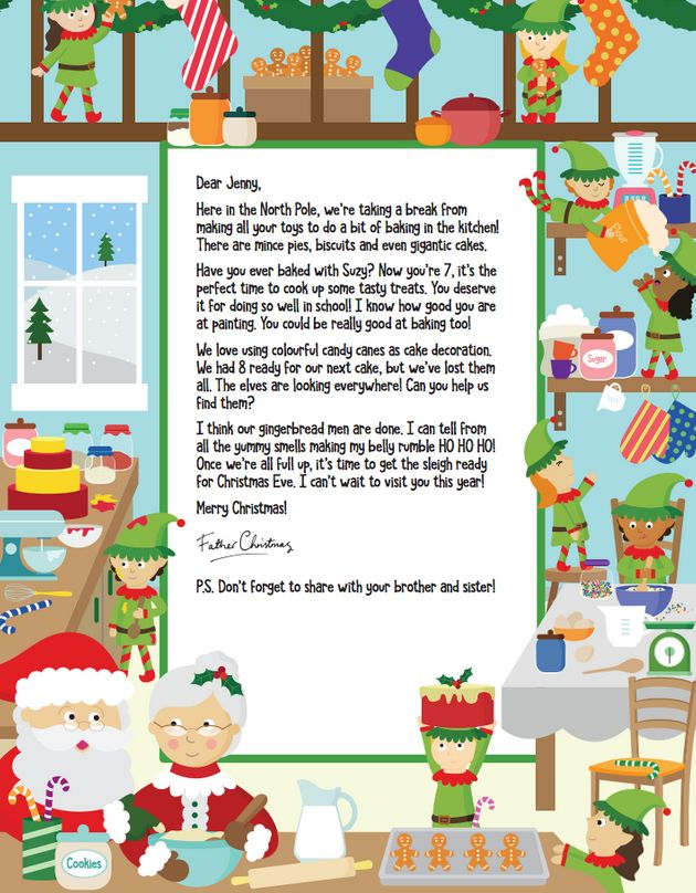 Letters from santa your child can get a note from father nspcc spiritdancerdesigns Image collections