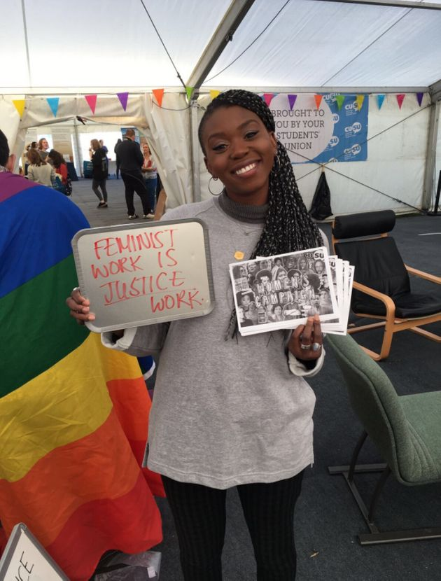 Lola Olufemi accused the Telegraph of trying to 'delegitimise'