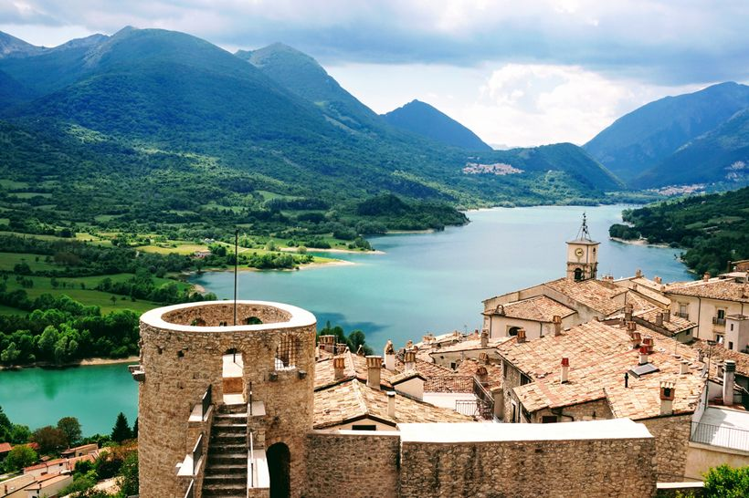 Lago di Barrea near Scanno