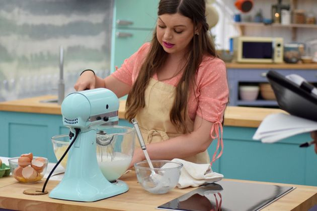 29-year-old Kate Lyon has made it through to this year's 'Bake Off