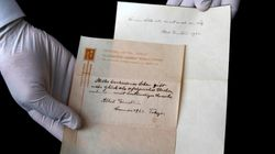 Note Given By Albert Einstein In Lieu Of Tip Sells For More Than $2