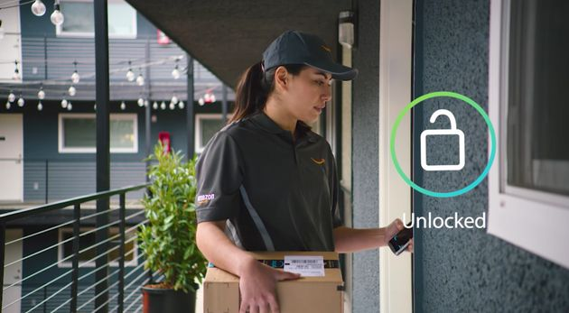 Amazon Key Is A New Delivery Service That Allows Couriers Into Your