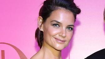 TORONTO, ON - OCTOBER 12:  Actress Katie Holmes,  Mr. W. Galen Weston and The Hon. Hilary M. Weston celebrate  Holt Renfrew 180TH  Anniversary  in partnership with Vogue Magazine held at Holt Renfrew Flagship Store on October 12, 2017 in Toronto, Canada.  (Photo by George Pimentel/WireImage)