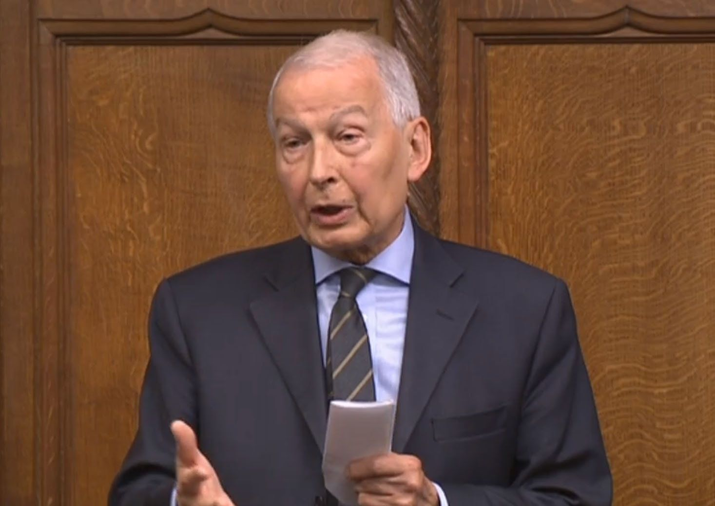 <strong>Labour's Frank Field, chair of the Commons Work and Pensions Committee said the six-week wait is 'cruel'</strong>