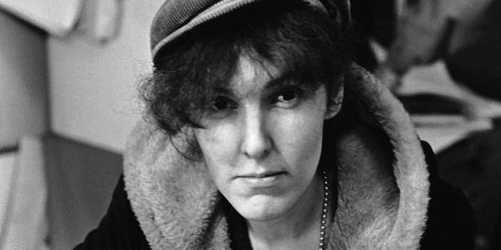 "Valerie Solanas at the <a rel=""nofollow"" href=""https://en.wikipedia.org/wiki/Village_Voice"" target=""_blank"">Village Voice</a>"