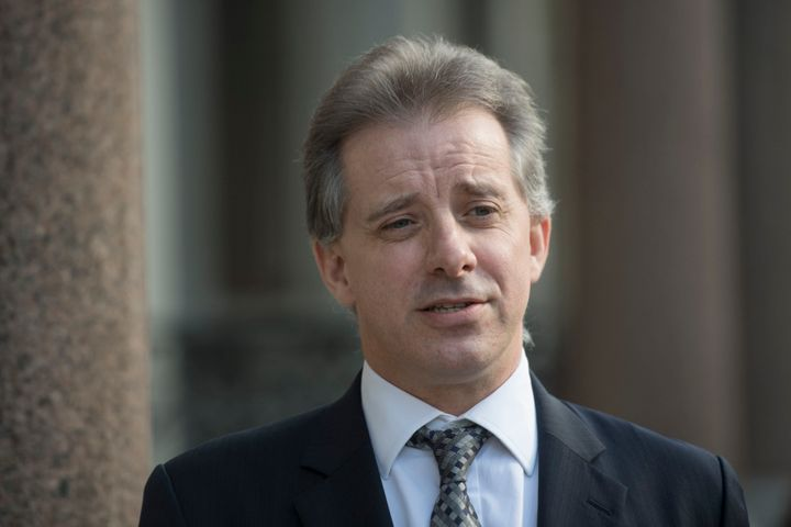 Christopher Steele, the former MI6 agent who set-up Orbis Business Intelligence and compiled a dossier on Donald Trump, in Lo