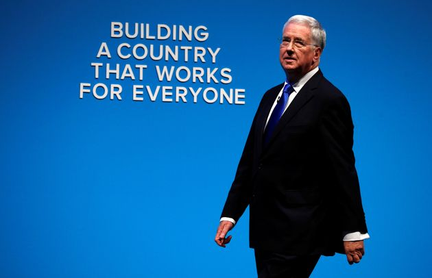 Fallon at the Tory Conference earlier this