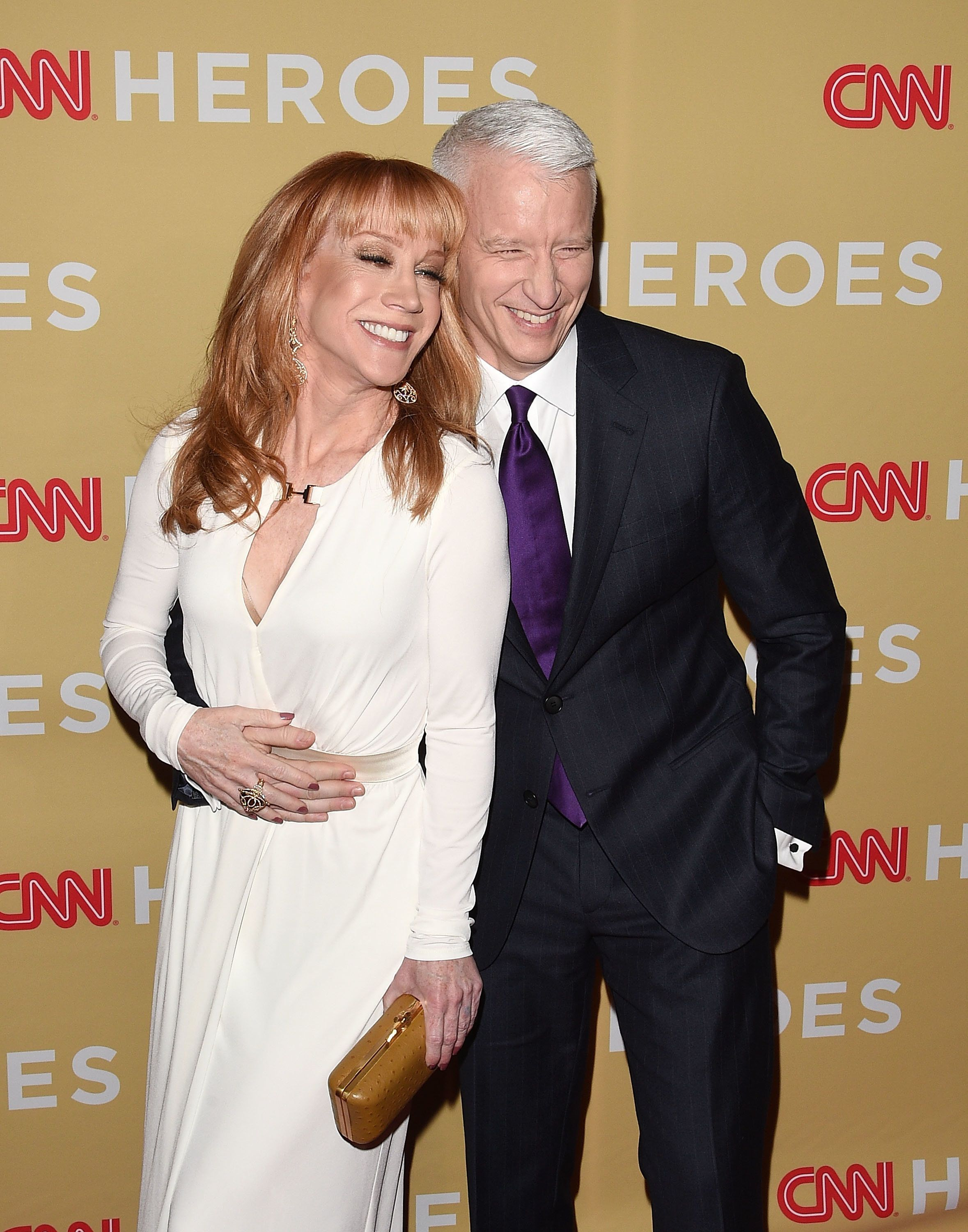 NEW YORK, NY - NOVEMBER 18:  Kathy Griffin and Anderson Cooper attend the 2014 CNN Heroes: An All-Star Tribute at the American Museum of Natural History on November 18, 2014 in New York City.  (Photo by Andrew H. Walker/Getty Images)