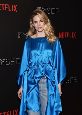 BEVERLY HILLS, CA - JUNE 10:  Actress Brit Marling arrives at Netflix's 'The OA' FYC Event at the Netflix FYSee Space on June 10, 2017 in Beverly Hills, California.  (Photo by Amanda Edwards/WireImage)