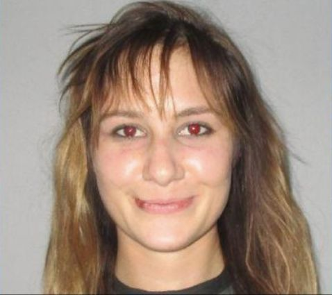 Shelby McDowell in a booking photo from Flagler County Sheriff's Office.