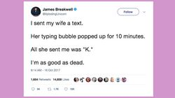 25 Tweets About Married Life That Are Hilariously