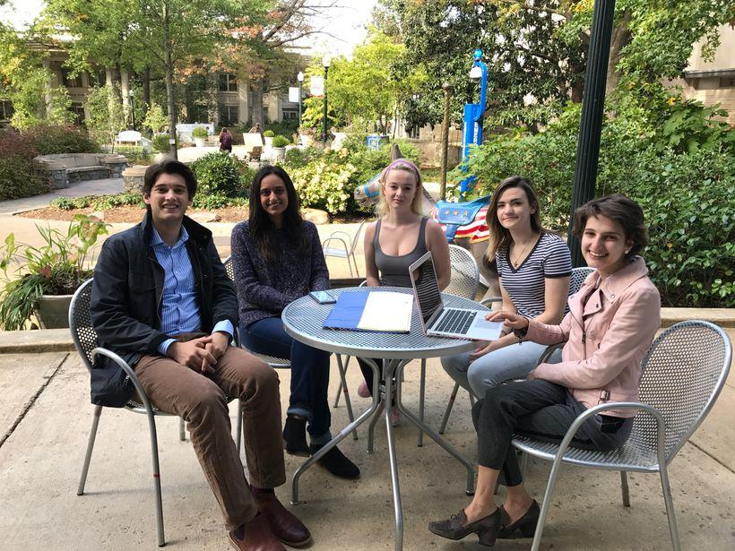American University students.