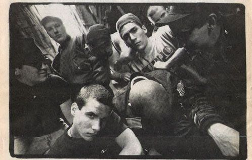 The original Baldies in Minneapolis in the 1980s.