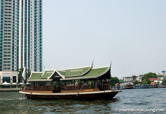 River view, Bangkok, Thailand.