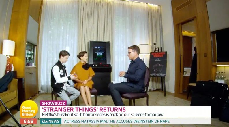 'Good Morning Britain' Turns The Tables On The 'Stranger Things'
