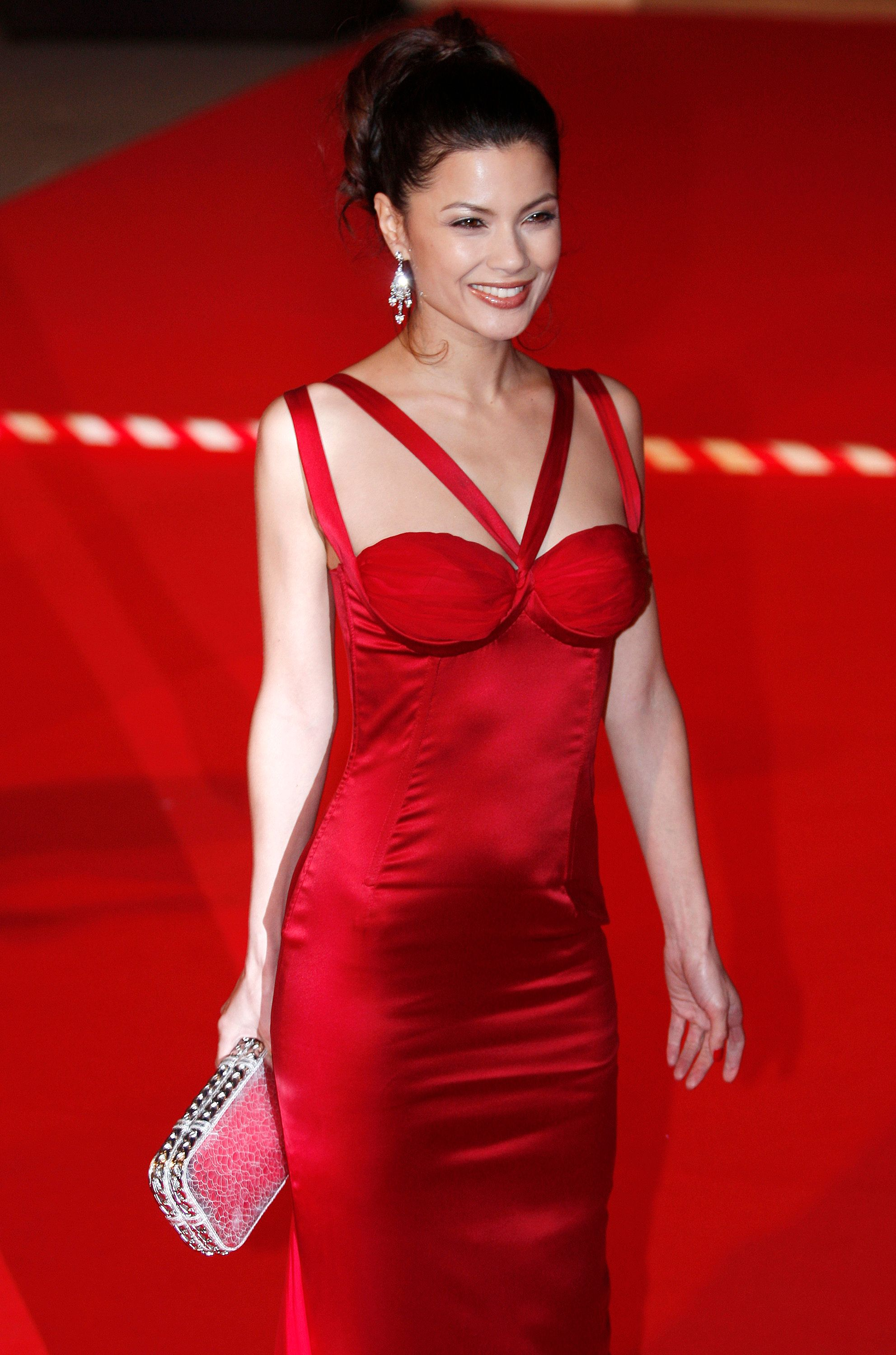 <strong>Malthe at the Baftas in London in 2008 </strong>