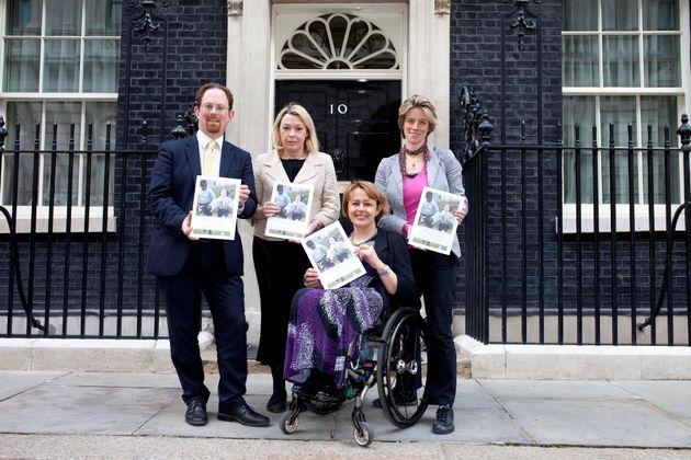 (From left) Julian Huppert MP, Barbara Keeley MP, Crossbench Peer Tanni Grey-Thompson, Charlotte Leslie...