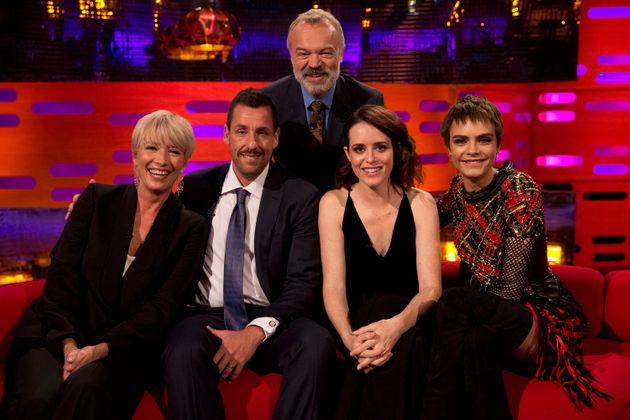 Emma appeared on the show withAdam Sandler, Claire Foy and Cara
