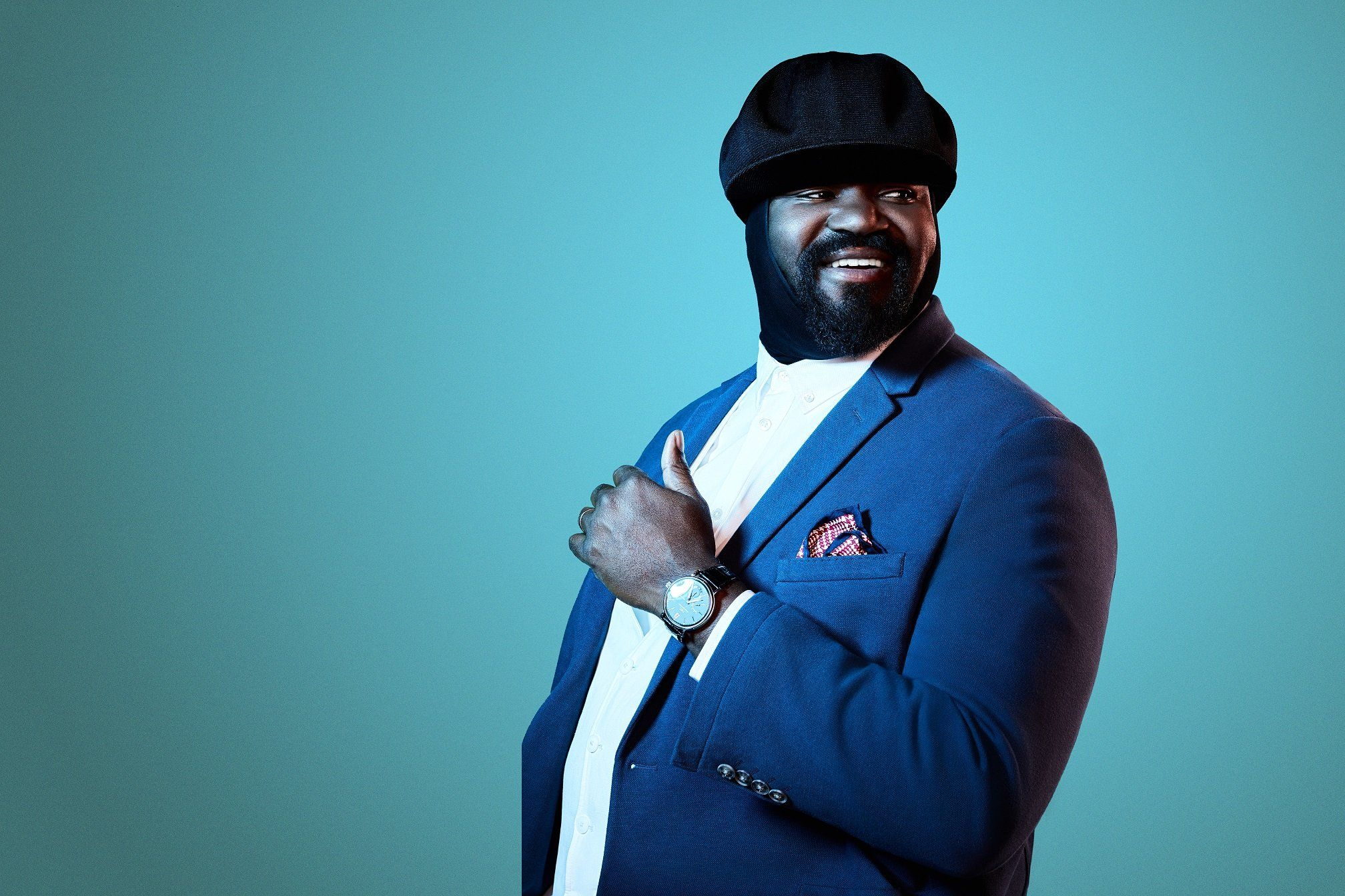 Gregory Porter On What Keeps Him Grounded And Why There's Only One Way To Deal With
