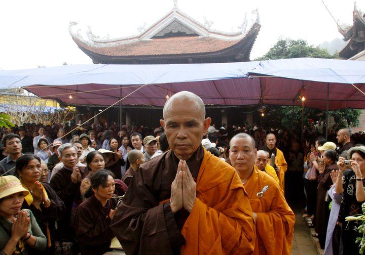 Buddhist monk Thich Nhat Hanh