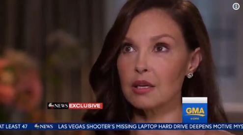 Ashley Judd Breaks Down In Tears During First TV Interview Since Weinstein