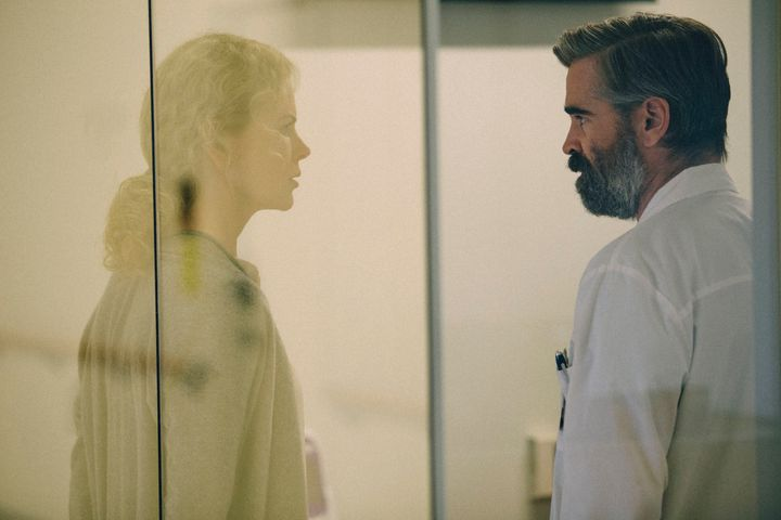 "Nicole Kidman and Colin Farrell star in ""The Killing of a Sacred Deer."""