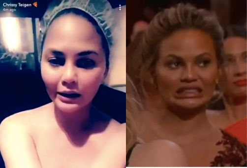 Chrissy Teigen Apologizes For Having Nipples After Accidental Nip