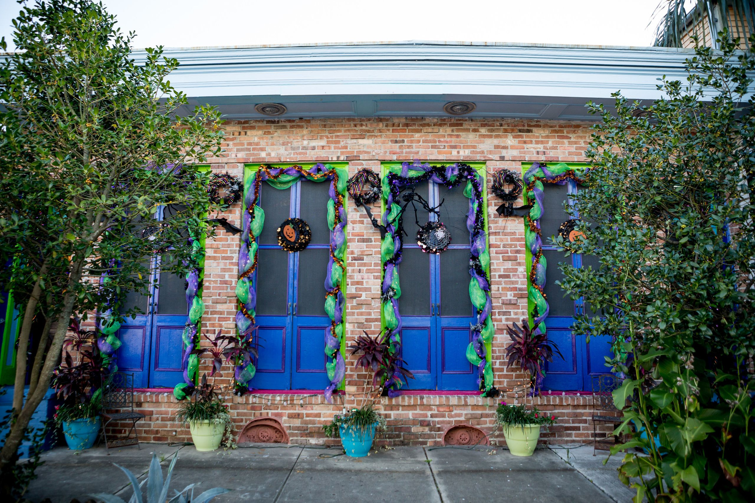 Ornate decor outside homes often is a sign that the space is being used for short-term rentals, says Meg Lousteau, a Treme re