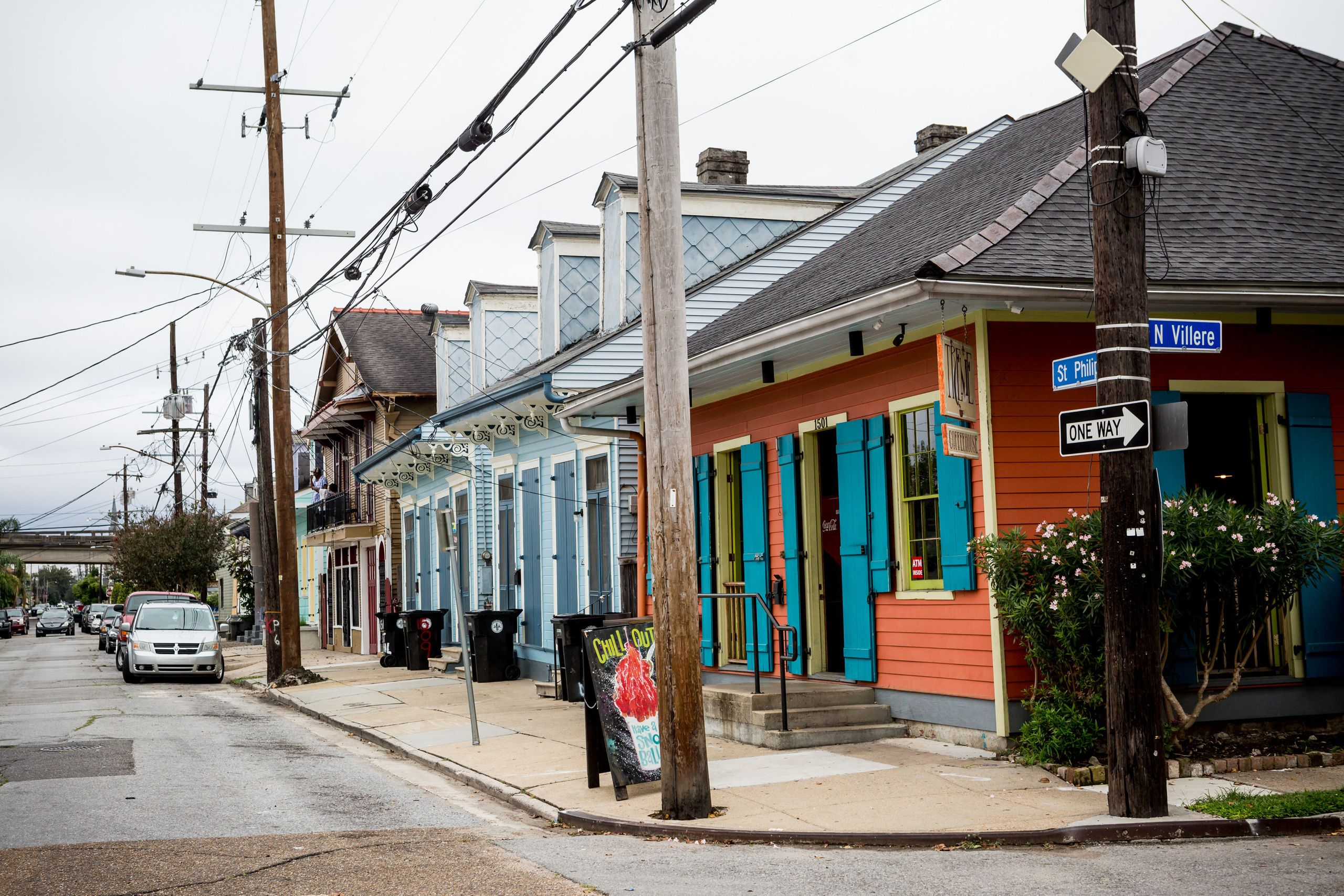 Treme neighborhood on Oct. 17, 2017.