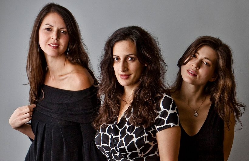 The Wailin' Jennys (from left): Heather Masse, Nicky Mehta and Ruth Moody.
