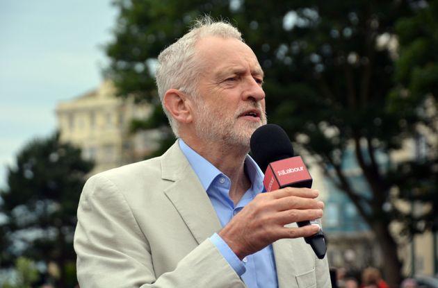 Jeremy Corbyn in