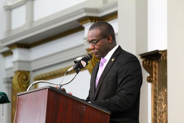 St. Louis Board of Aldermen President Lewis Reed introduced the clean energy resolution last
