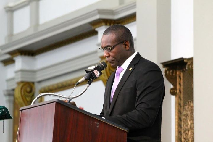 St. Louis Board of Aldermen President Lewis Reed introduced the clean energy resolution last month.