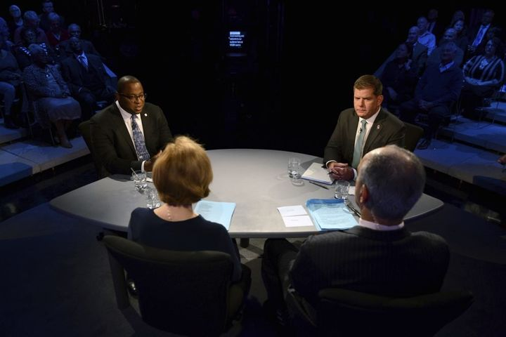 City Councilor Tito Jackson and Boston Mayor Marty Walsh join for a debate ahead of the city's upcoming mayoral election