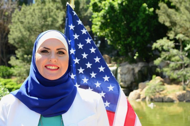 Deedra Abboud, an Arizona Democrat, says she has faced Islamophobic threats as a Senate candidate.