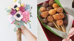 19 ideas de ramos de novia alternativos y sin