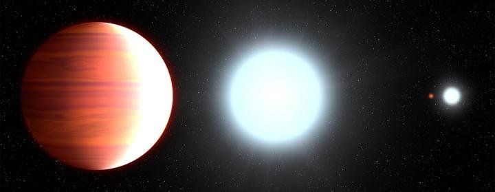 Hubble Discovers A Giant Boiling Planet Where It Quite Literally 'Snows'