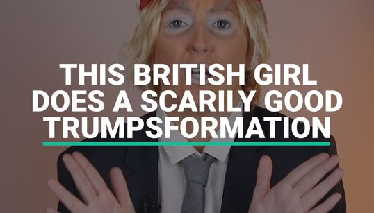 This British Woman Does A Scarily Good