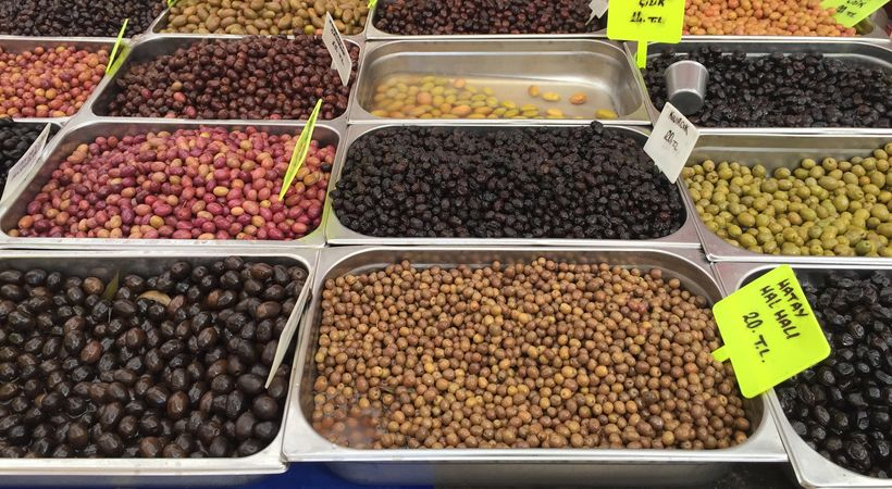 Olives are a great source of healthy fat
