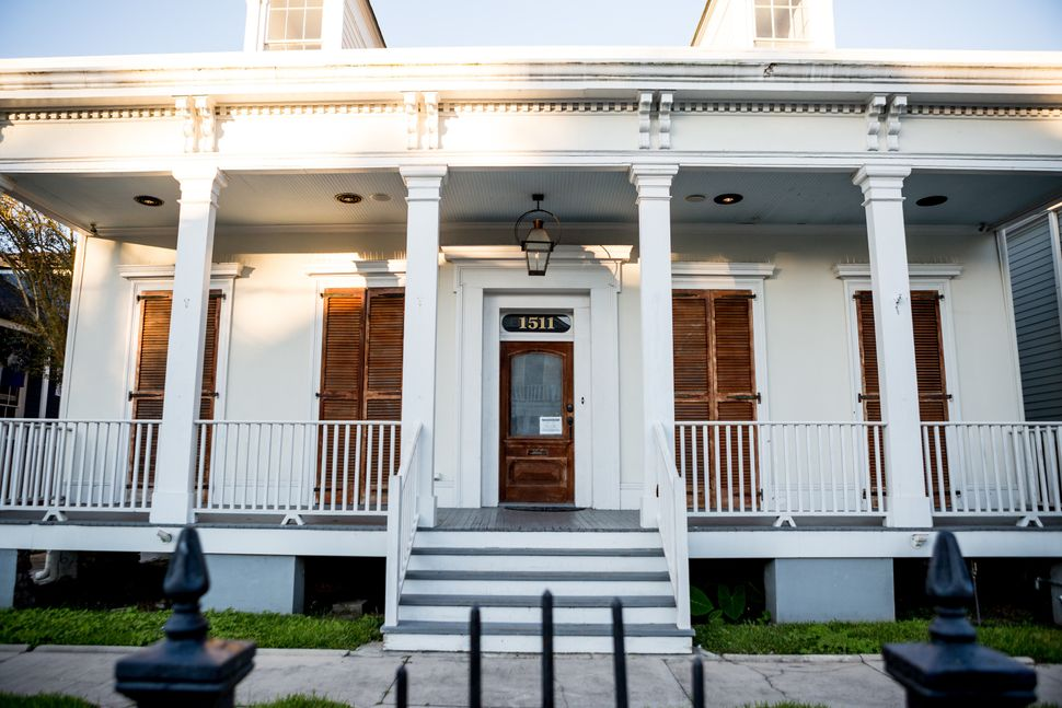A home used for short-term rentals on Janice Coatney's block of Ursulines in the Treme neighborhood....